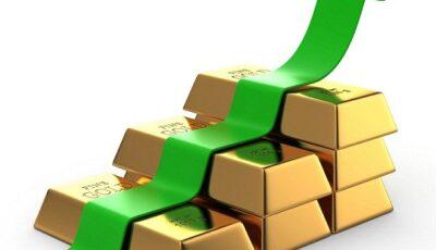 تداول الذهب يكسب 35 دولاراً خلال أسبوعين
